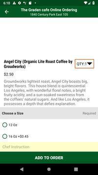 Garden Cafe Online Ordering screenshot 2