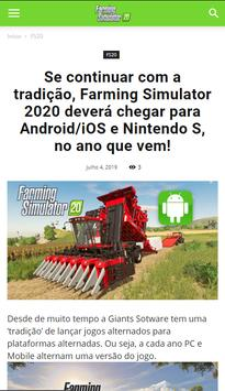 Farming Simulator 2020 (FS20) - News पोस्टर