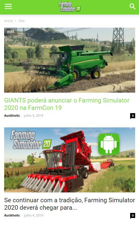 Farming Simulator 2020 Fs20 News For Android Apk Download