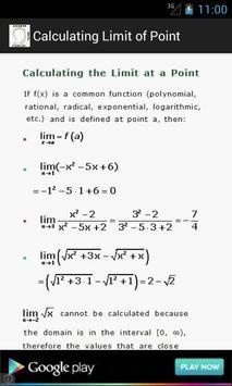 Higher Maths Formulas screenshot 1