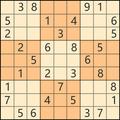 Sudoku-freies Kreuzworträtsel