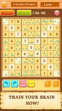 Teka teki silang Sudoku-Free poster