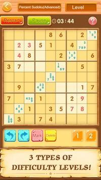 Trò chơi ô chữ miễn phí Sudoku ảnh chụp màn hình 12