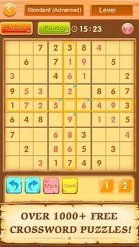 Trò chơi ô chữ miễn phí Sudoku ảnh chụp màn hình 19