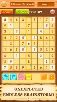 Trò chơi ô chữ miễn phí Sudoku ảnh chụp màn hình 21