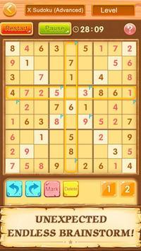 Teka teki silang Sudoku-Free screenshot 4