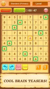 Trò chơi ô chữ miễn phí Sudoku ảnh chụp màn hình 9
