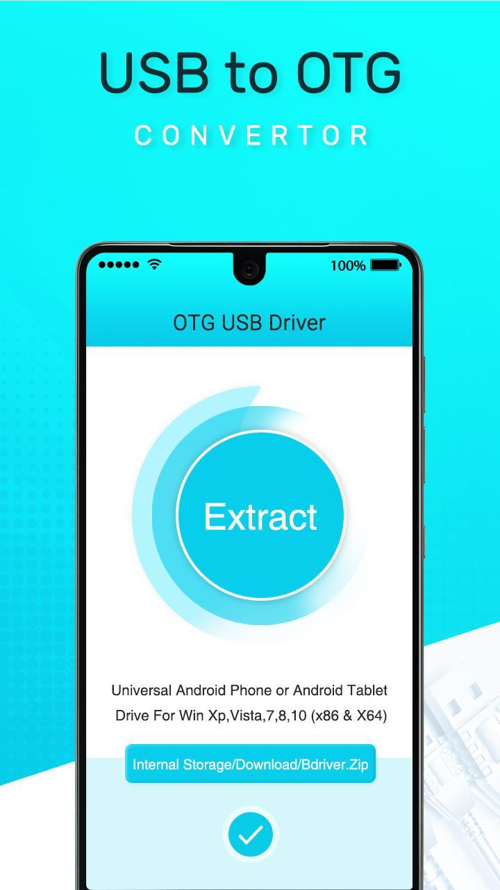 OTG USB Driver For Android - USB OTG Checker for Android