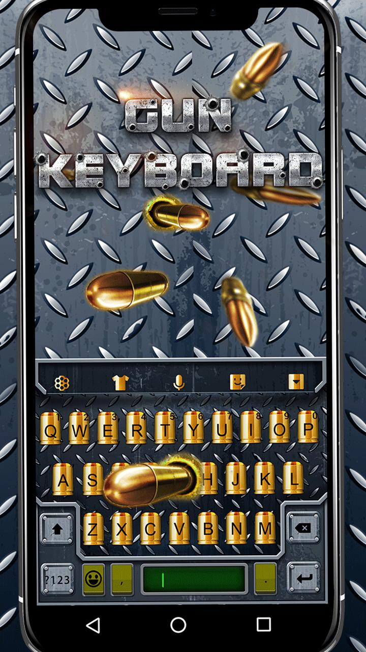 3D Cool Gun&Bullet Shooting Theme Music Keyboard for Android