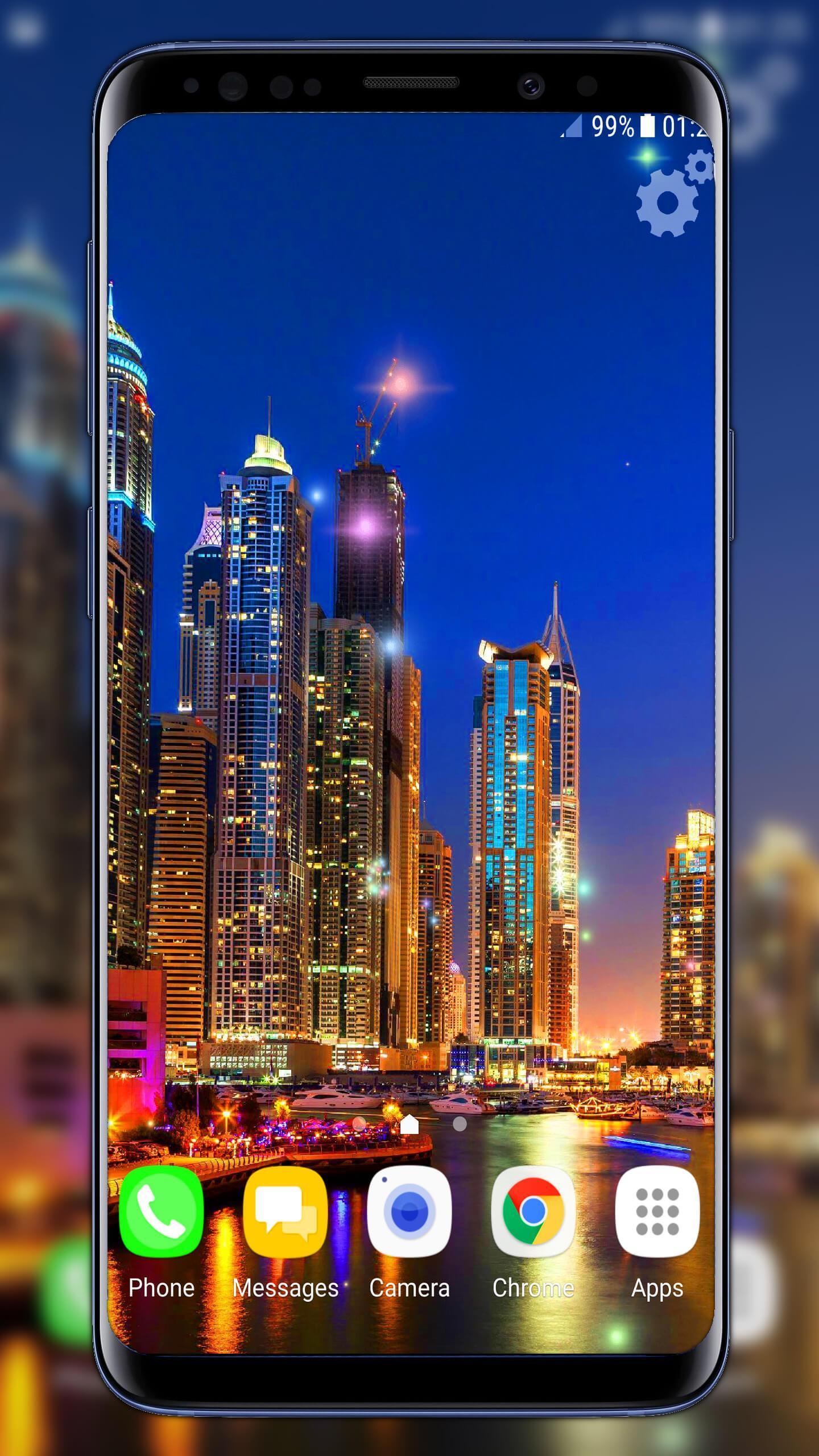 Android için Dubai Night Live Wallpaper - APK'yı İndir