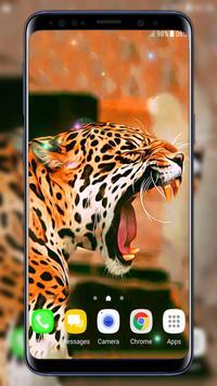 Leopard Live Wallpaper 截图 1