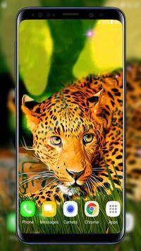 Leopard Live Wallpaper 截图 2