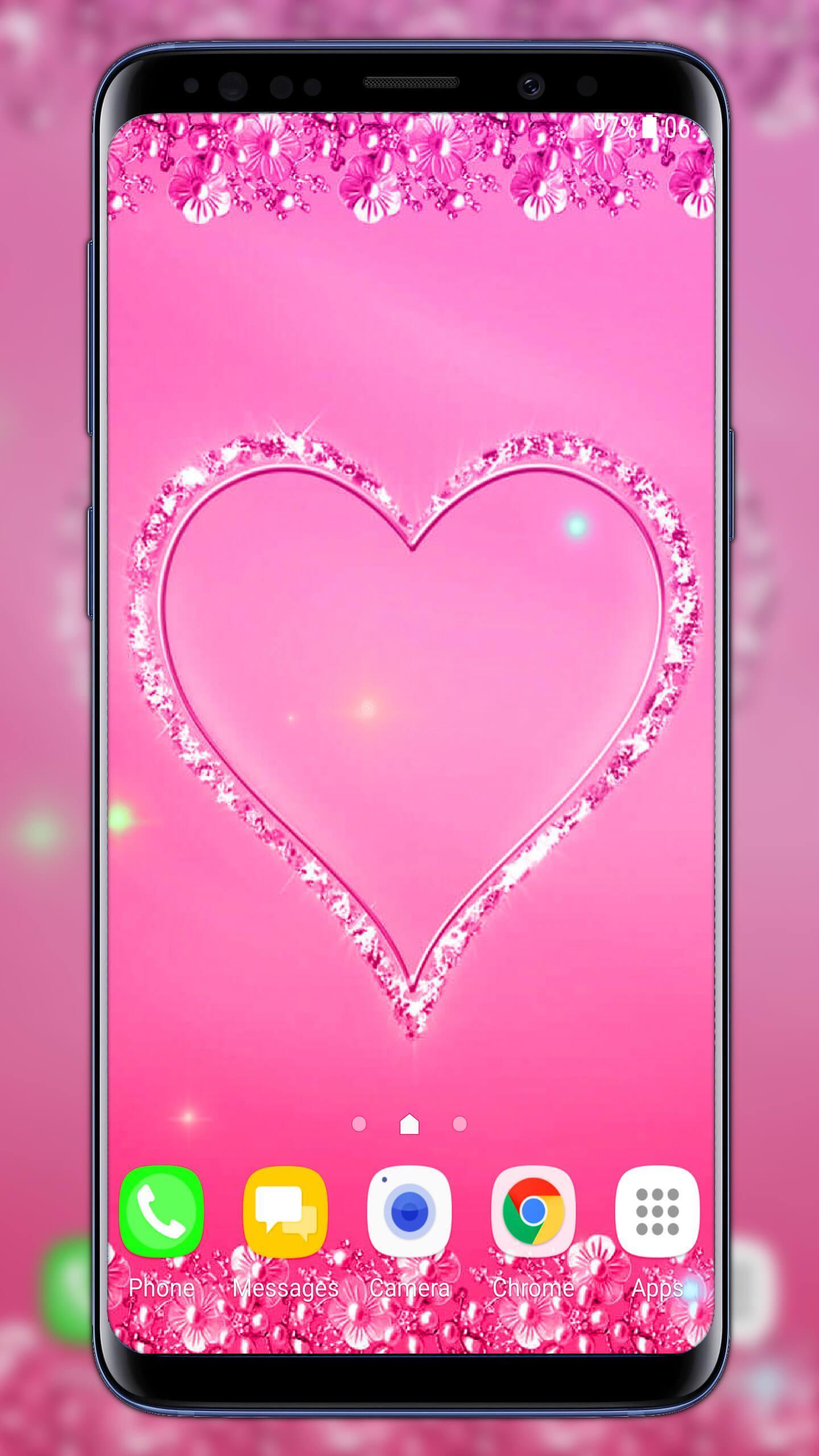 خلفيات باللون الوردي For Android Apk Download