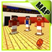 Basketball maps for Minecraft PE icon