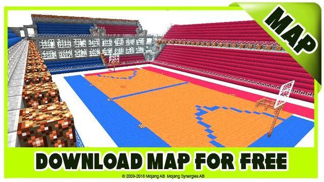 Basketball maps for Minecraft PE screenshot 3