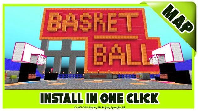 Basketball maps for Minecraft PE screenshot 1