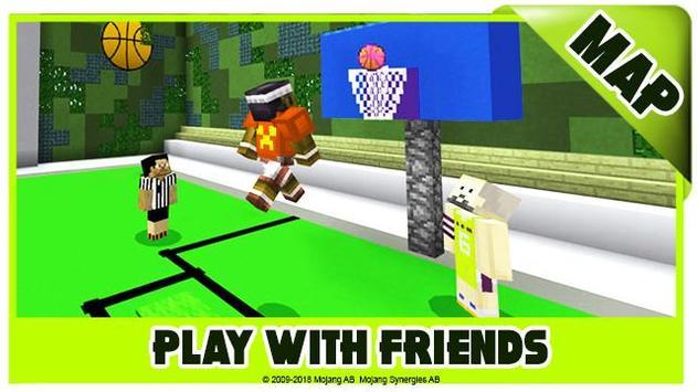 Basketball maps for Minecraft PE screenshot 5