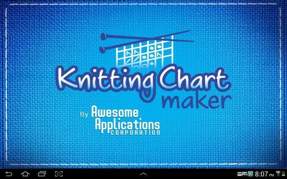 Knitting Chart Maker poster
