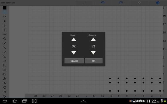Knitting Chart Maker screenshot 3