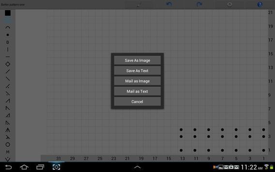 Knitting Chart Maker screenshot 5