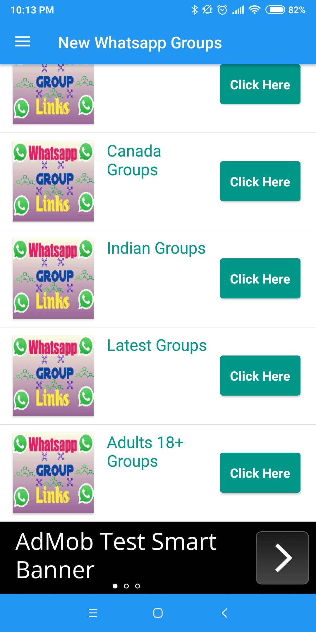 Latest Whatsapp Group Links- join chat for Android - APK