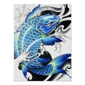 Koi Fish Art HD Wallpaper icon