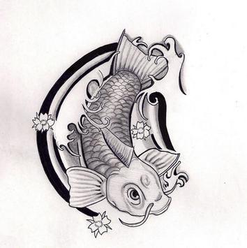 Koi Fish Art HD Wallpaper screenshot 3