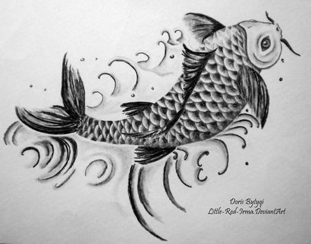 Koi Fish Art HD Wallpaper screenshot 7