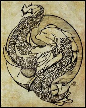 Koi Fish Art HD Wallpaper screenshot 5