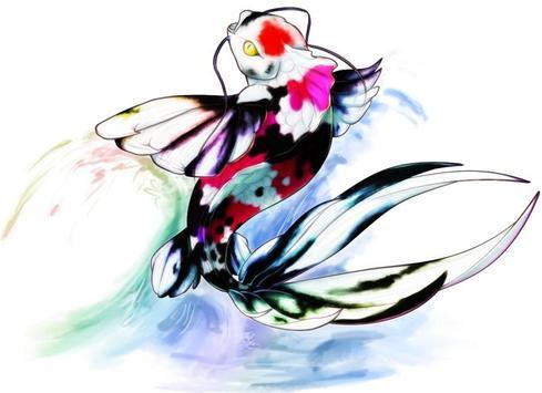 Koi Fish Art HD Wallpaper screenshot 6