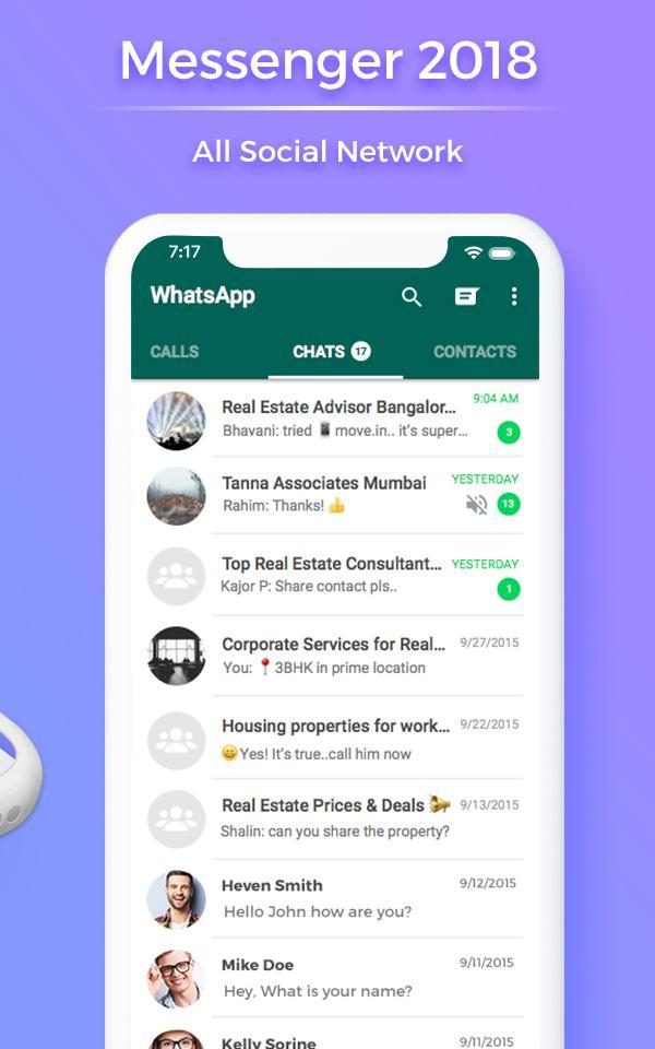 All in One Messenger 2019 for Android - APK Download