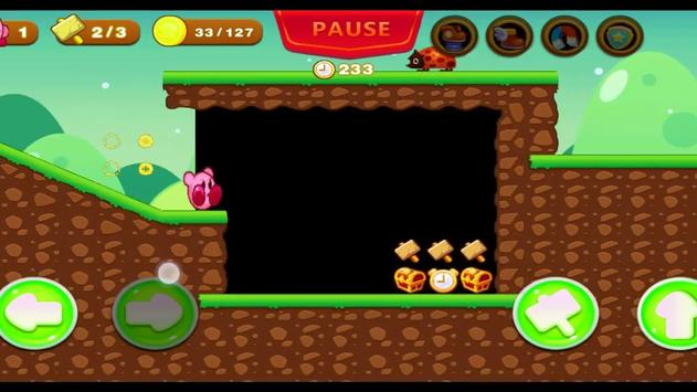 Kirby journey in the stars land screenshot 4
