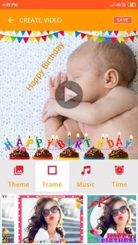Korean birthday video maker screenshot 3