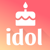 Kpop Idol Birthday Reminder 圖標