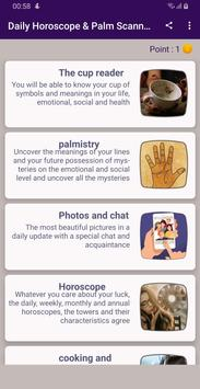 Palmistry & Daily Horoscope & Coffee Cup Readings poster