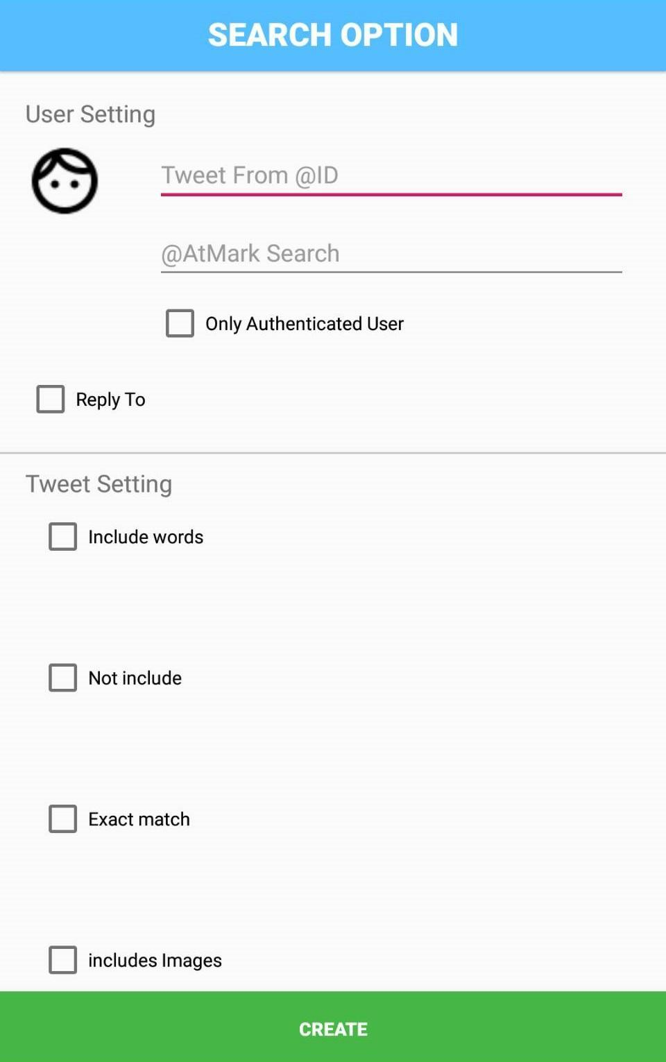 Advanced Search Tool for Twitter for Android   APK Download