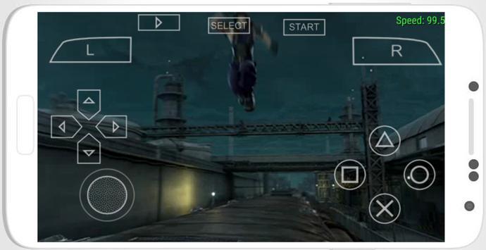Emulator for PSP poster