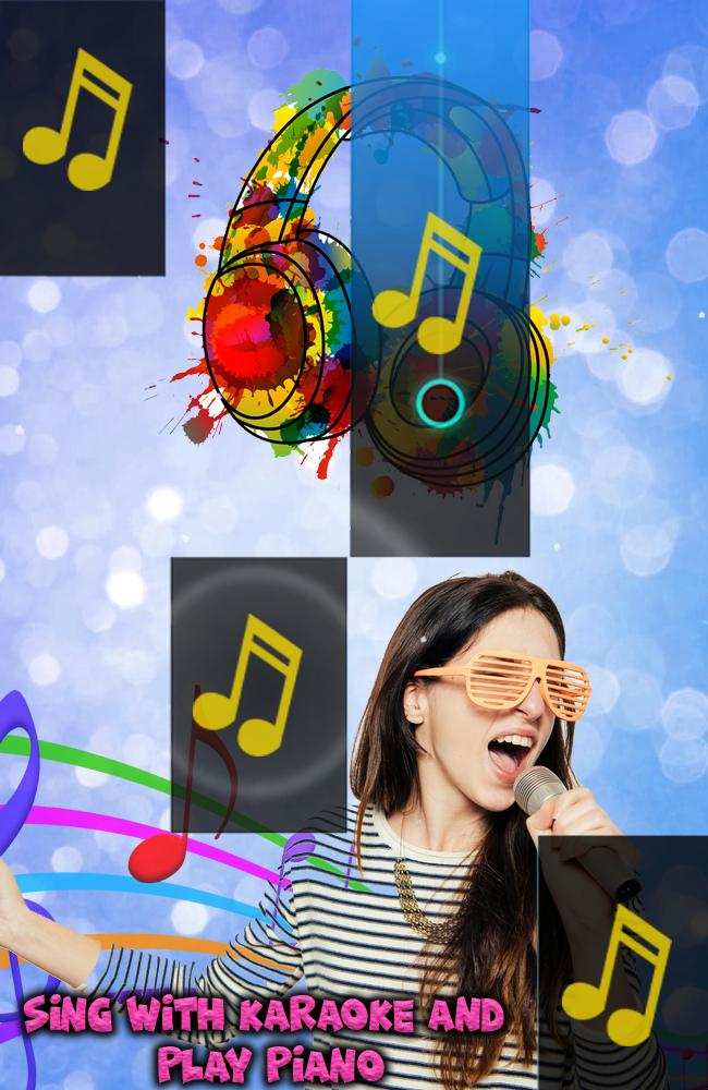 Karaoke Piano Singer Tiles : Singing Karaoke Song for