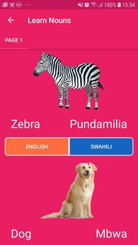 M-Lugha (English - Swahili) ECD screenshot 3