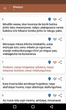 Swahili Bible screenshot 1