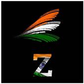 Indian Flag Alphabet Letter/Name Wallpaper/DP icon