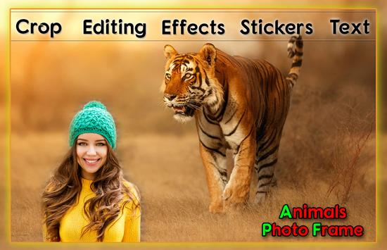 Animal Photo Frames capture d'écran 1