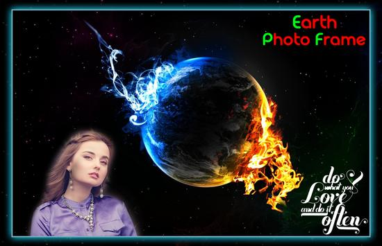 Earth Photo Frames poster