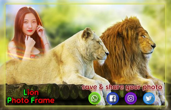 Lion Photo Frames screenshot 3