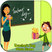 Happy Teacher's Day Photo Frames icon