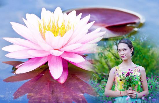 Lotus Photo Frame screenshot 2
