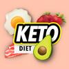 App de perda de peso Keto - dieta Keto e planos de ícone
