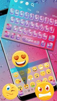 Colourful Glass Bubble Keyboard Theme screenshot 2