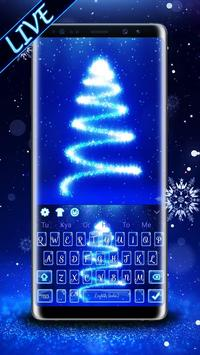Christmas Tree Keyboard Theme poster