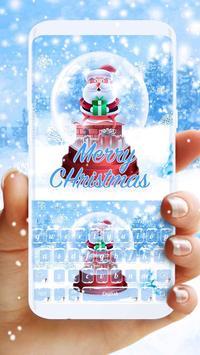 Crystal Christmas Live Keyboard poster